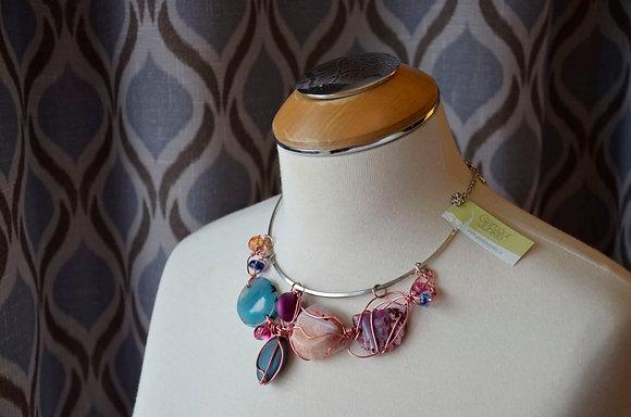 Gemstone Wirework Collar