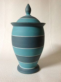 slip decorated porcelain