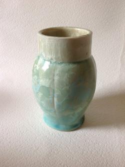 pale green vessel