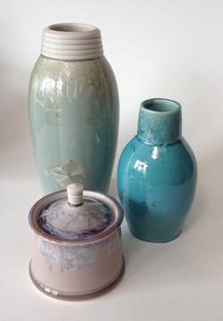 crystalline glazed porcelain