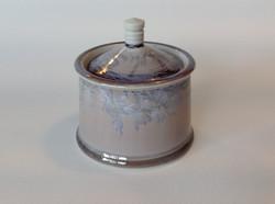 small crystalline jar