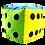 Thumbnail: Kostki do gry - różne rozmiary!