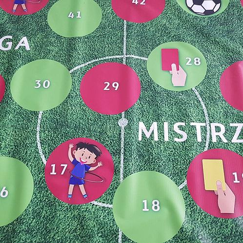 """Sportowa gra planszowa XXL """"Liga Mistrzów"""""""