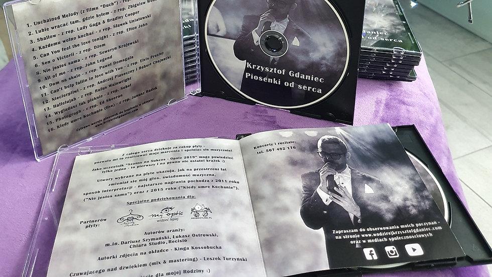Piosenki od serca - płyta CD (tradycyjna)