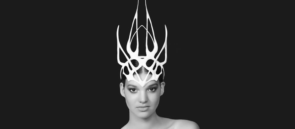 3D Printed Openwork Art of Merve Oztemel