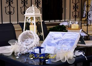 Wedding and christening decor