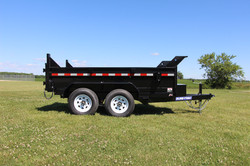 10' Sure-Trac Dump Trailer