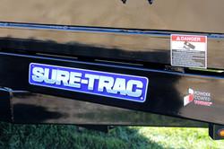 2021 14' Sure-Trac HD Low Profile Dump Trailer