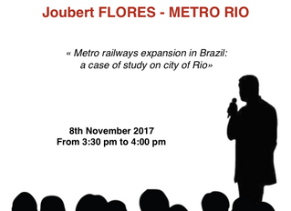 METRO RIO will be present on TransRail Connection !