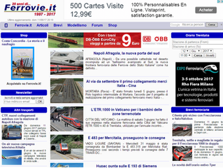 Ferrovie.it, Italian magazine, joins the TRANSRAIL adventure !