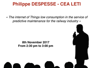 CEA LETI will lead a conference on TransRail Connection !