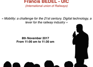 CONFERENCE : International union of railways on TransRail Connection !