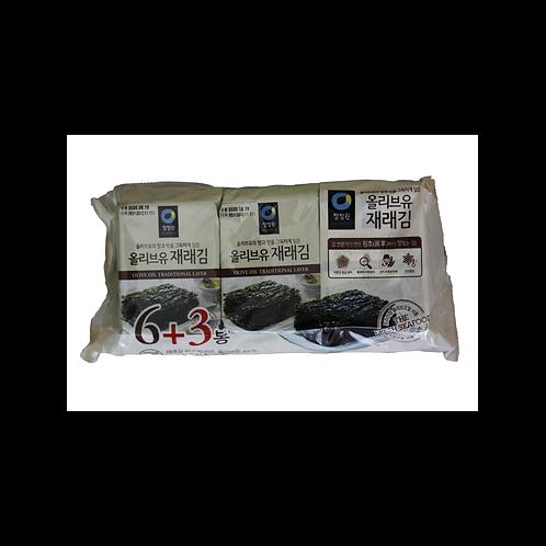 Dried Roasted & Seasoned Seaweed (9 packs)