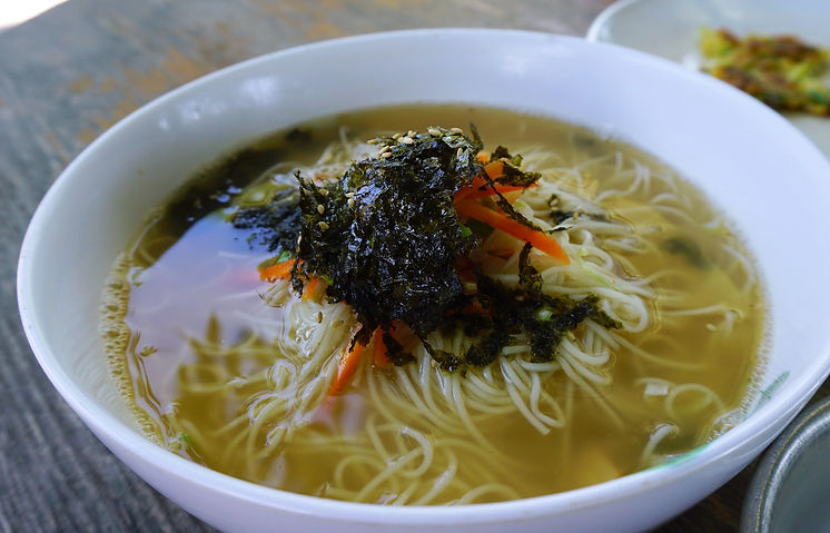 Warm Noodle Soup