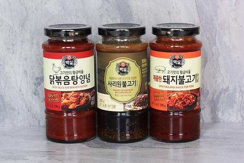 Korean BBQ Sauce Set