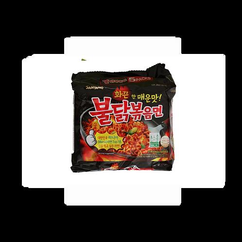 Buldak, Stir-Fried Noodle (5 Packs)