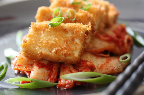 Simple Tofu Kimchi