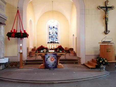Gottesdienst am 4. Advent,    den 20.12.2020