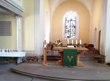 Gottesdienst am 25.10.2020 (20. Sonntag nach Trinitatis)