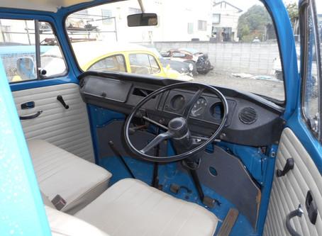 1974 TYPE2 レイトバス キャンパーベッド