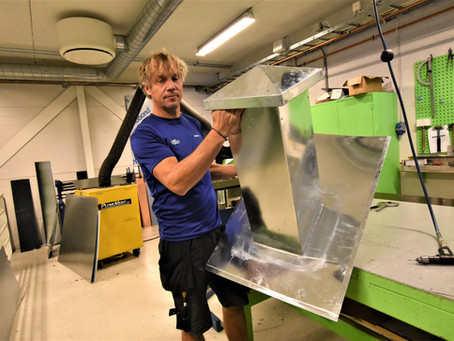 Blikkenslagermester Espen Bråten har gått gradene i Profil-Montering: - En topp arbeidsplass!