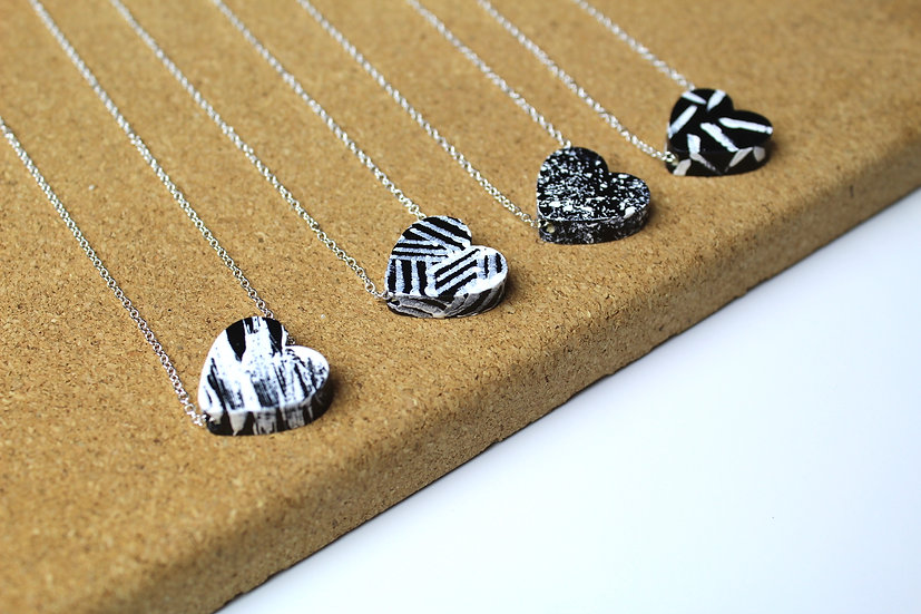 HEART NECKLACE ASSORTED