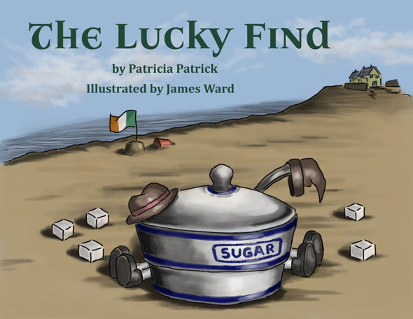 "Book Cover - ""The Lucky Find"""