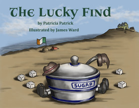"""Book Cover - """"The Lucky Find"""""""