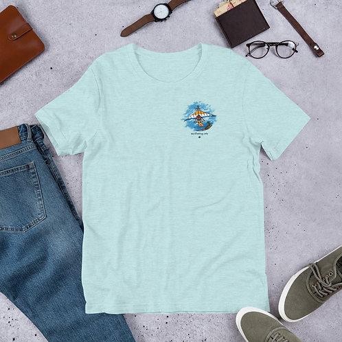 Paraglider Dude - Short-Sleeve Unisex T-Shirt