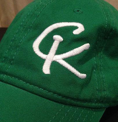 Casual Cap - Green / White