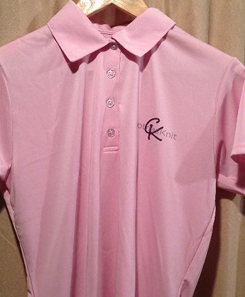 Women's Performance Polo - Pink