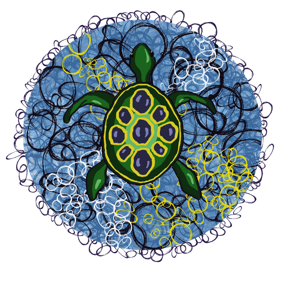 Sea Turtle - T-Shirt Design