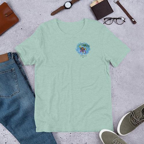 Snorkeler Dude - Short-Sleeve Unisex T-Shirt