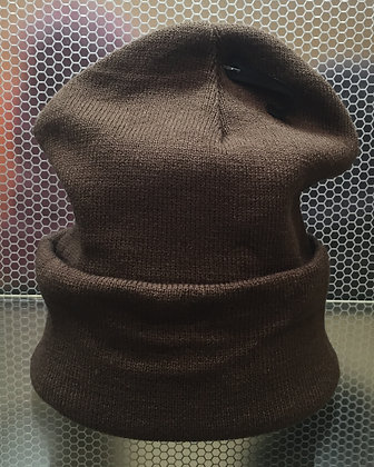 FleeceKnit Beanie - Brown
