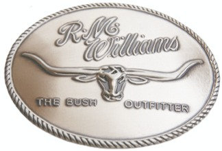 R.M. Williams Logo Buckle