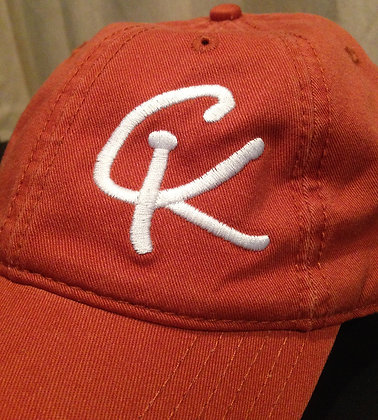 Casual Cap - Orange / White