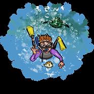 Snorkeler Dude