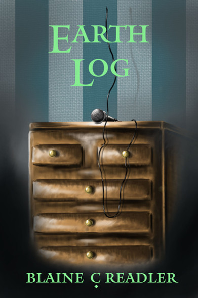 "Book Cover - ""Earth Log"""