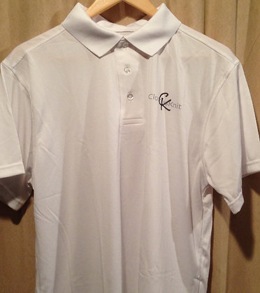 Men's Performance Polo - White