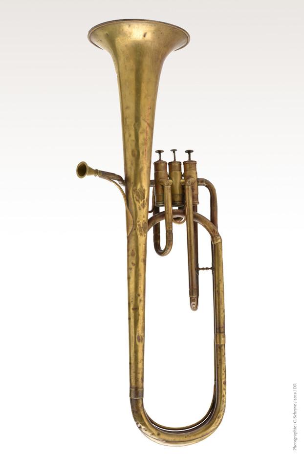 Saxotromba A.Sax avant restauration