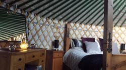 Lake Yurt Interior