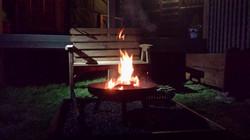Meadow Yurt Fire Pit