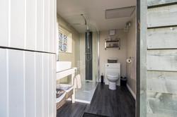 Meadow Yurt Shower Room