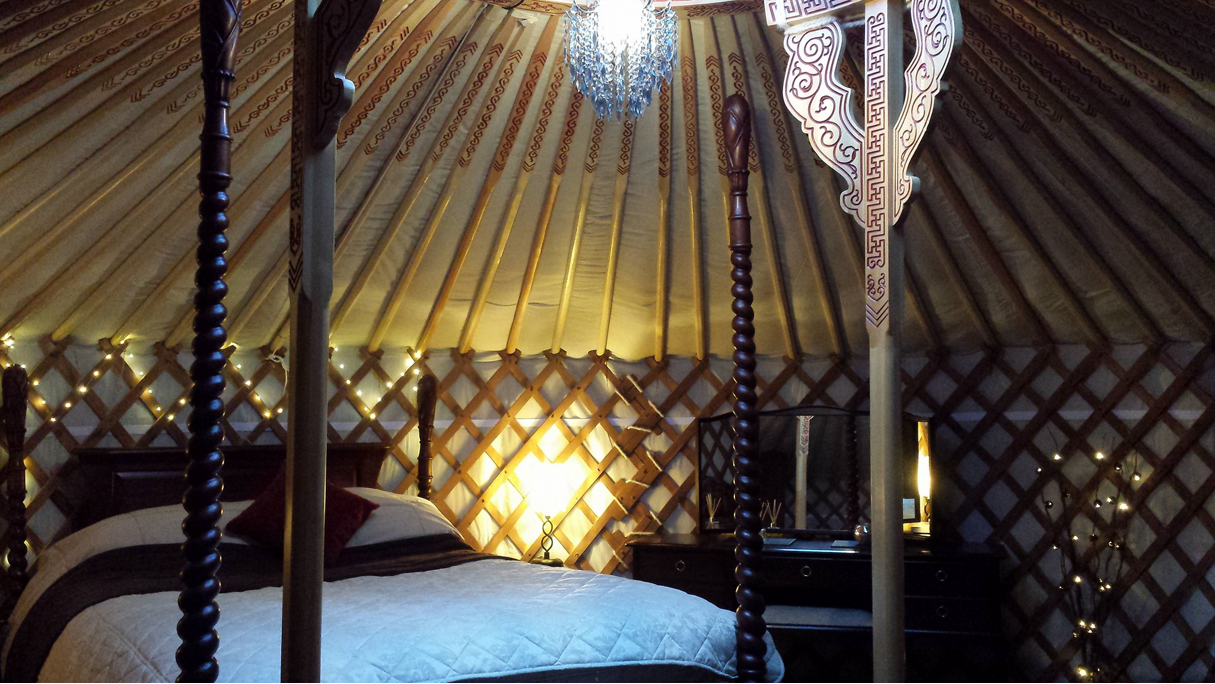 Meadow Yurt Interior
