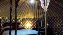 Meadow Yurt Interior