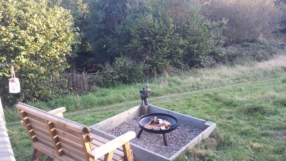Lake Yurt Fire Pit