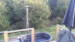 Lake Yurt Hot Tub