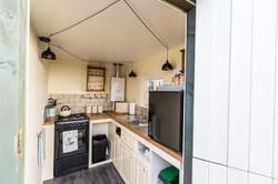 Meadow Yurt Kitchen