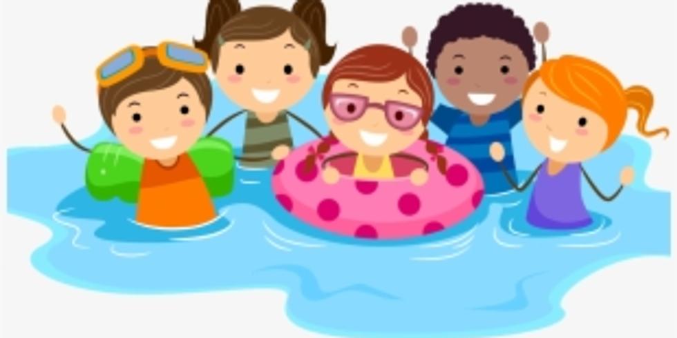 Family Swim. Friday session 2  --   2:30 - 4:30 (4)