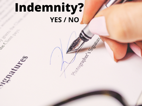 Importance of Indemnity clause in a contract.